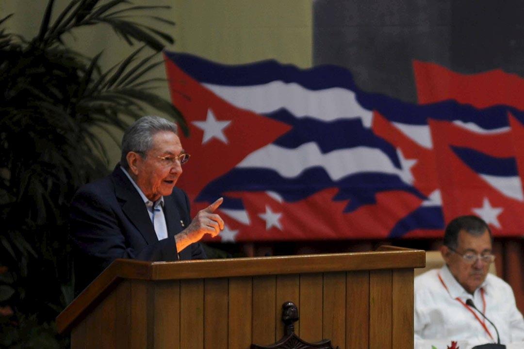 4月19日,古巴共產黨第七次全國代表大會閉幕。會上確認,年屆84歲的勞爾·卡斯特羅(Raúl Castro)將在未來5年繼續擔任古共中央委員會第一書記。攝 : Omara Garcia/AIN/Handout via Reuters