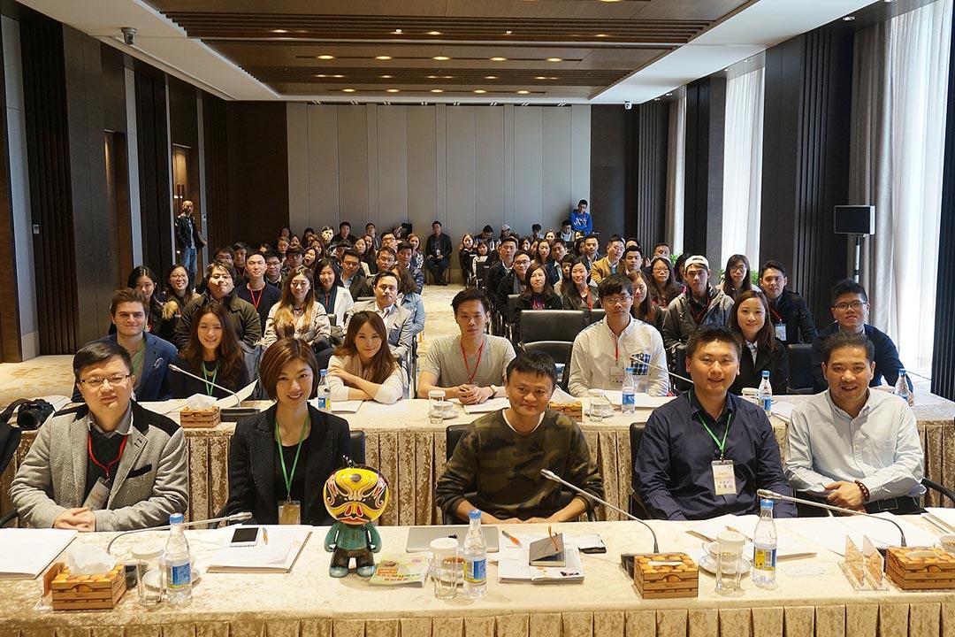杭州阿里巴巴總部考察團 ,得到集團執行主席、創辦人馬雲先生親自招待,並在座談會上分享他的創業經驗。青專網圖片