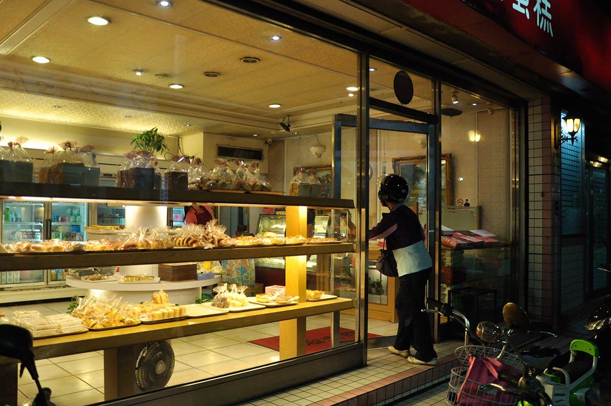 台灣傳統麵包店。攝:徐翌全/端傳媒