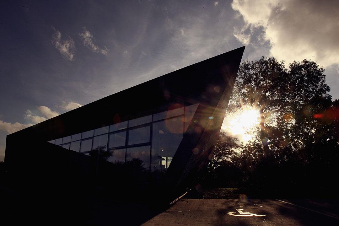 圖為蘇格蘭格拉斯哥柯科迪,維多利亞醫院的療養中心,該中心由薩哈•哈帝設計。攝:Jeff J Mitchell/GETTY