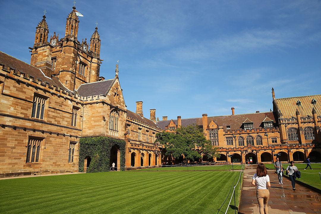 澳洲悉尼大學校園。攝:Brendon Thorne/GETTY
