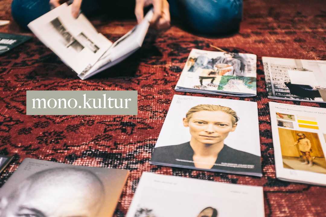 誕生於柏林的獨立雜誌《mono.kultur》。端傳媒設計部