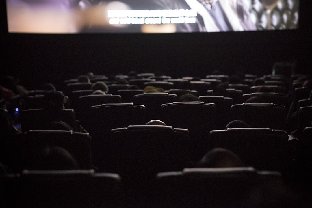 香港國際電影節增設附有口述影像的電影場次。攝:羅國輝/端傳媒