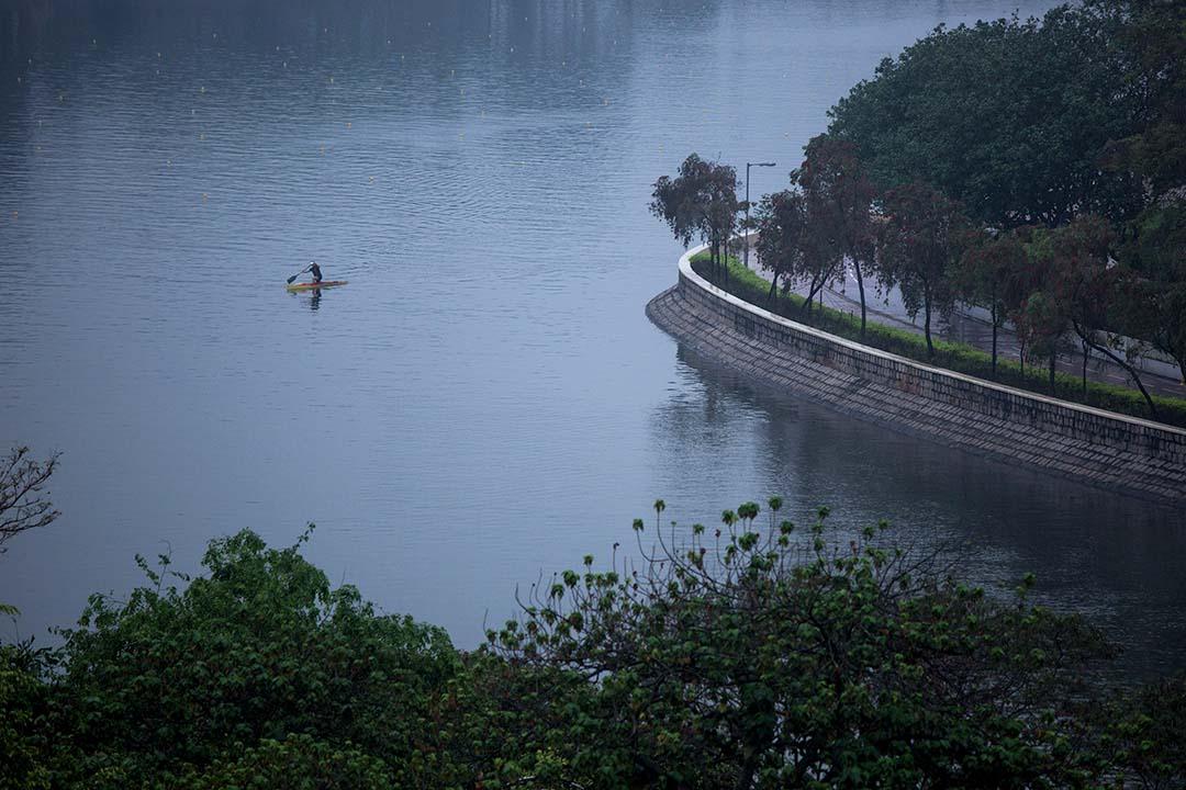 沙田城門河。攝:盧翊銘/端傳媒