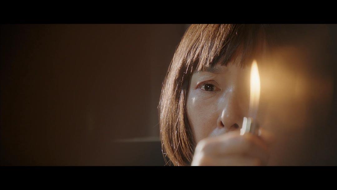 桃井薰執導《火》電影劇照。當她無法平衡自己和異性及親人的關係,最終只能選擇摧毀一切。