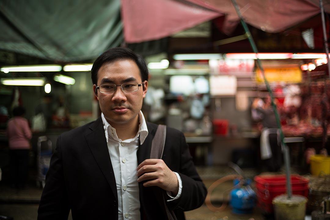 建築師Alfred Ho,認為雖然香港人經常批評領展,但他們自己其實抱相同的價值觀。 攝:Billy H.C. Kwok/端傳媒