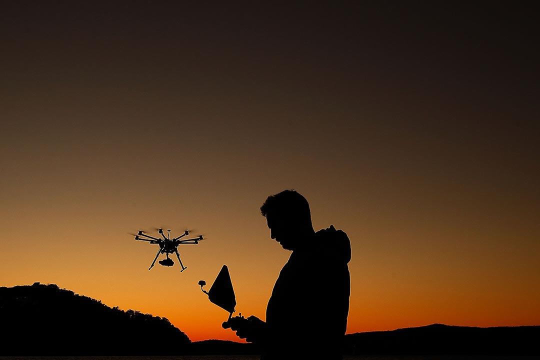 全球商用無人機巨頭中國大疆創新(DJI)近日表示,願意與中國政府分享其產品的用戶數據。攝 : Brendon Thorne/GETTY