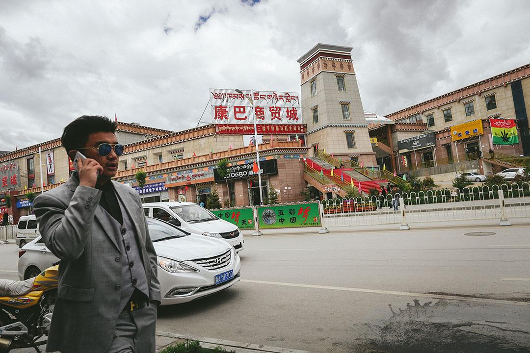 2015 年8月31日,青海玉樹結古鎮。攝:王嘉豪/端傳媒