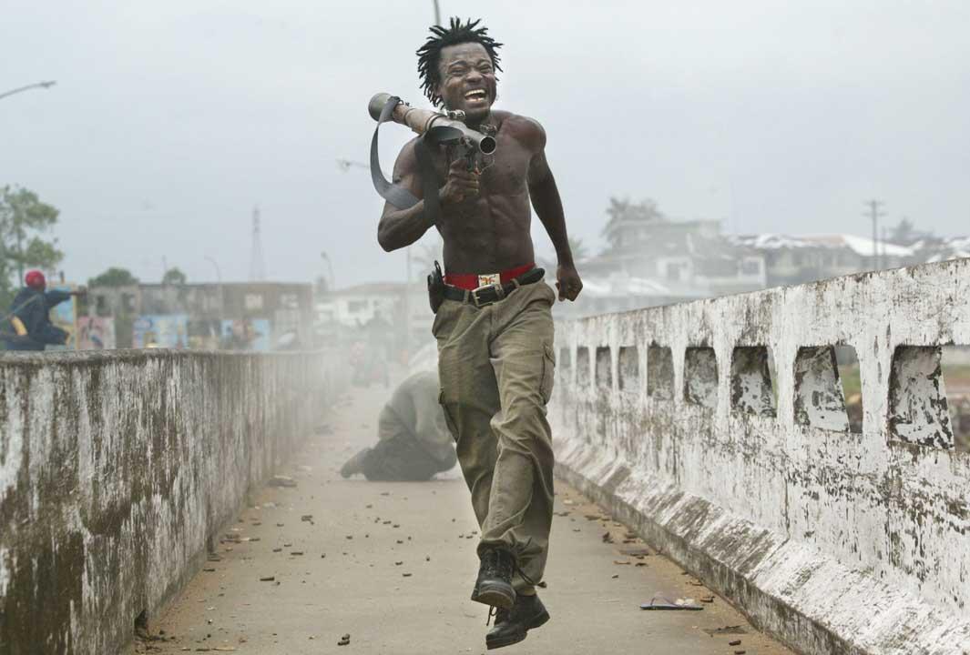 2003年7月20日,利比里亞戰事。攝:Chris Hondros/Getty