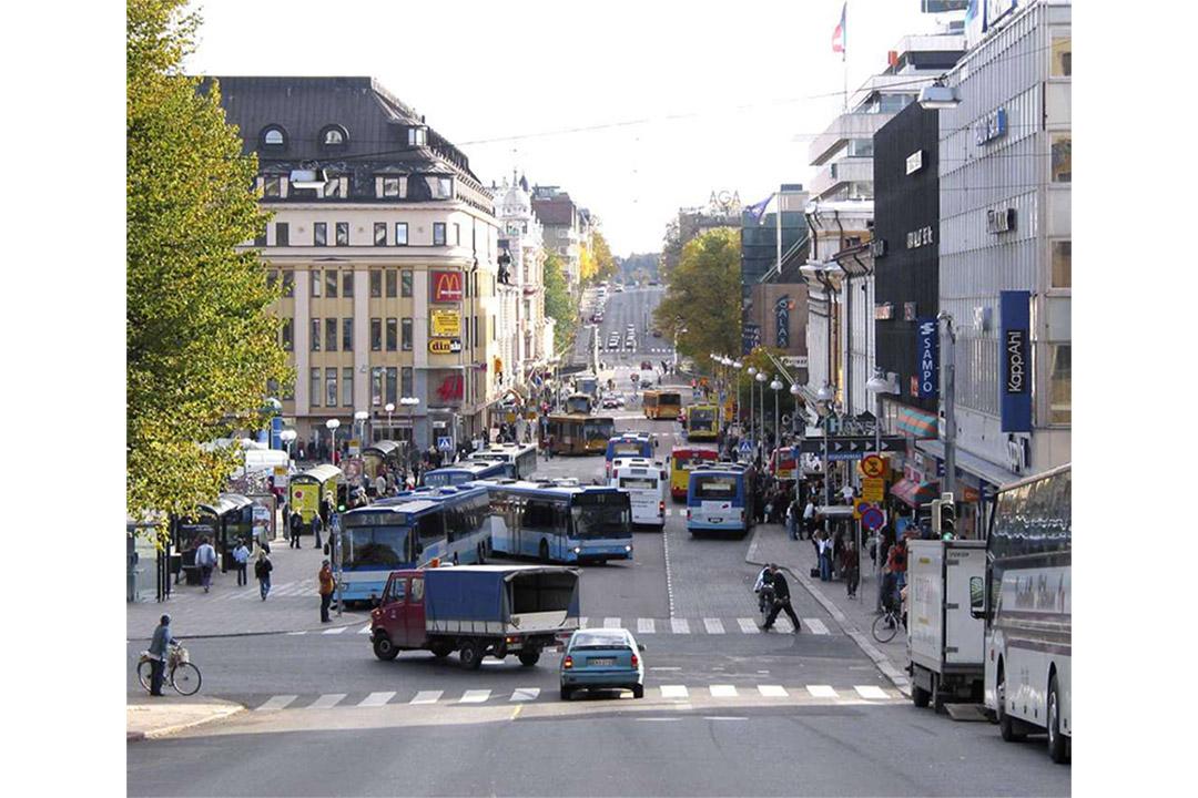 芬蘭圖爾庫市內。圖爾庫旅遊網頁圖片。