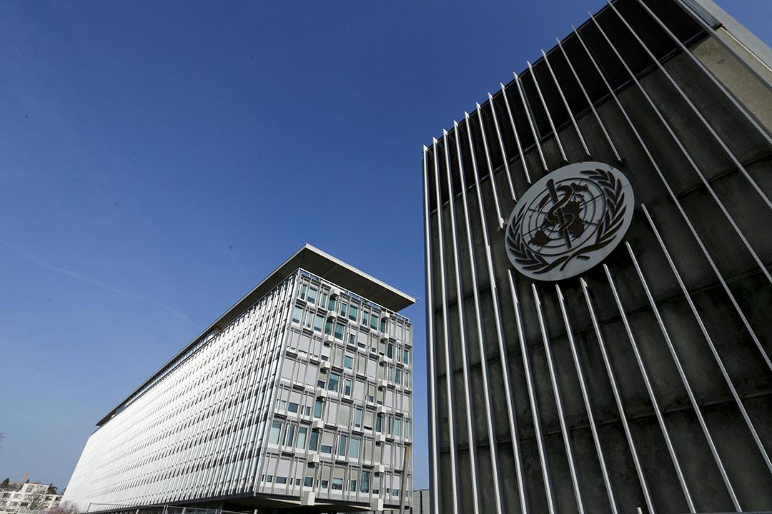 位於瑞士日內瓦的世界衛生組織(WHO)總部。攝:Denis Balibouse/REUTERS