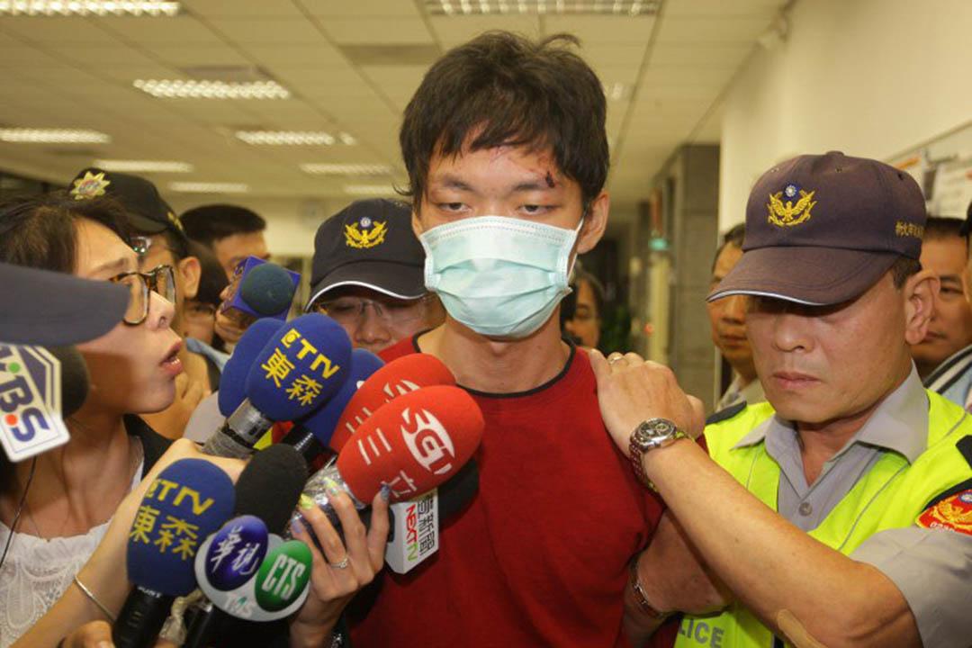 2014年在台北捷運車廂內持刀隨機殺人,造成4死22傷的鄭捷被槍決。