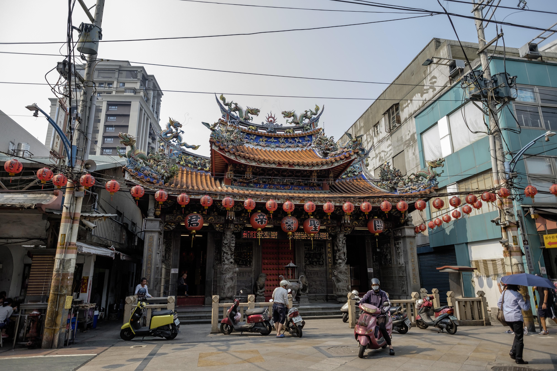新莊老街武聖廟。攝:Tseng Lee/端傳媒