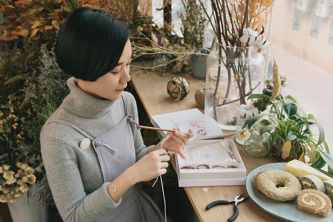 Ibility講究慢節奏、專注、真實的手工藝。