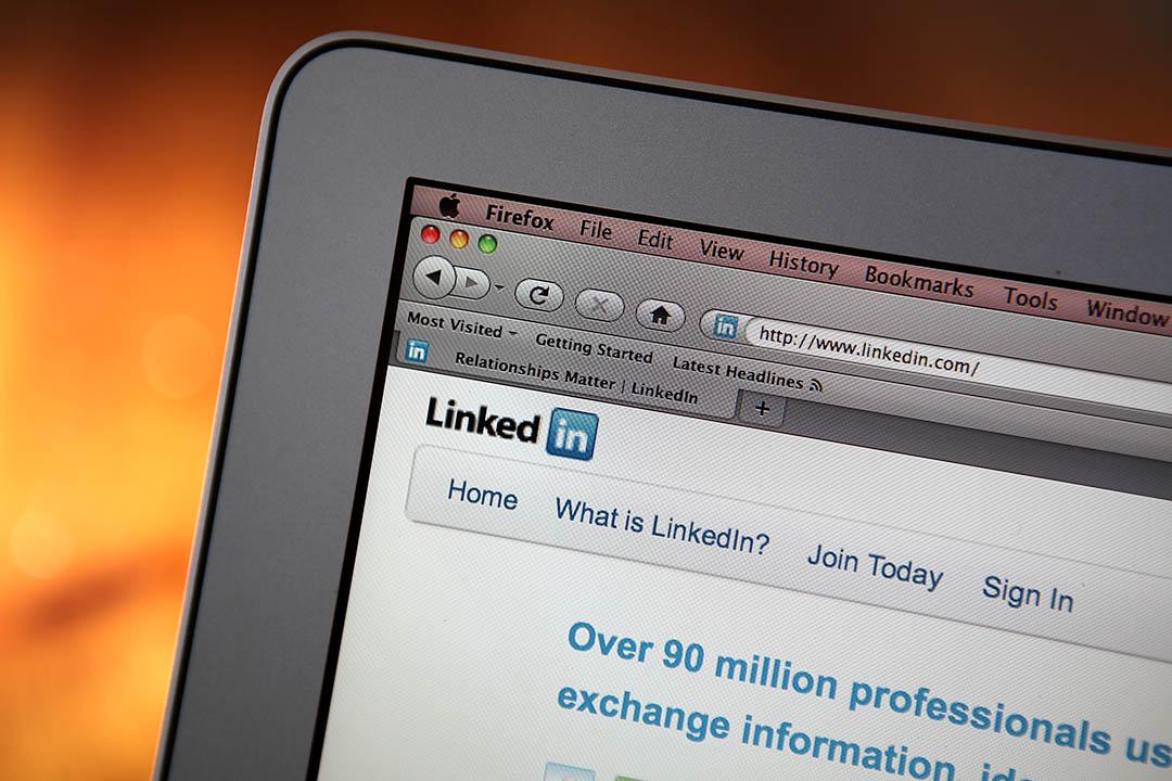 商業客戶導向的社交網絡服務網站Linkedin 。