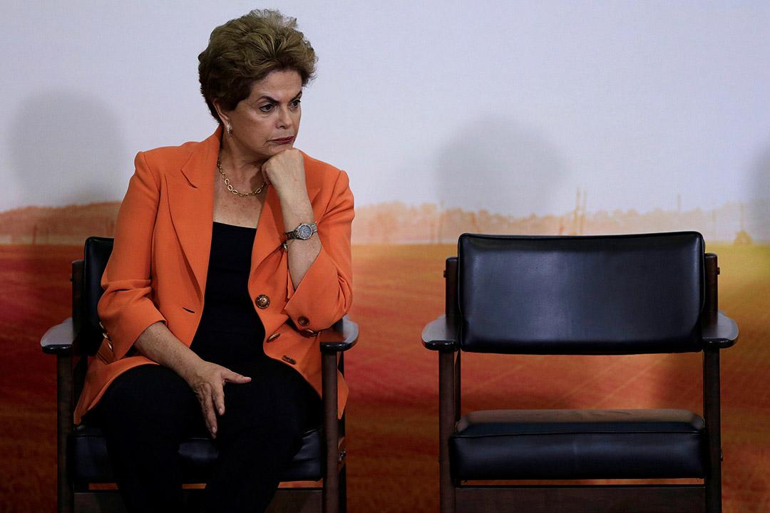 2016年5月4日,巴西總統羅塞芙出席農業及畜牧業計劃開啟典禮。