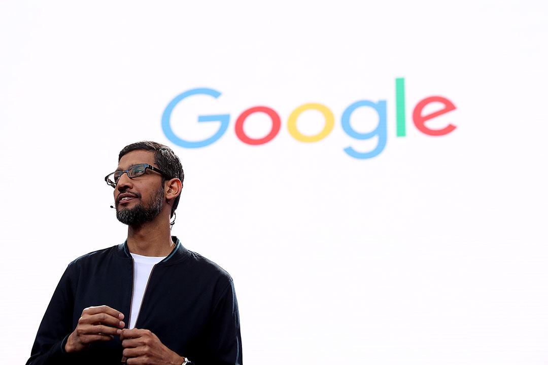 Google CEO桑德尔·皮查伊(Sundar Pichai)。