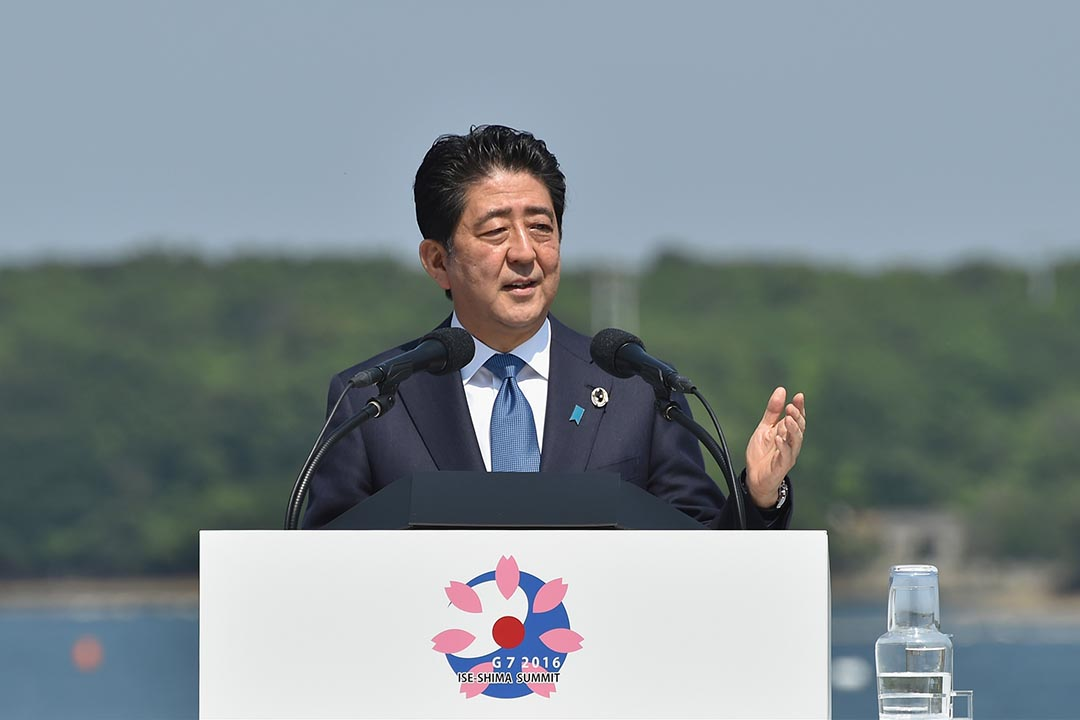 日本首相安倍晉三提議把加稅的時間點延後到2019年10月份。