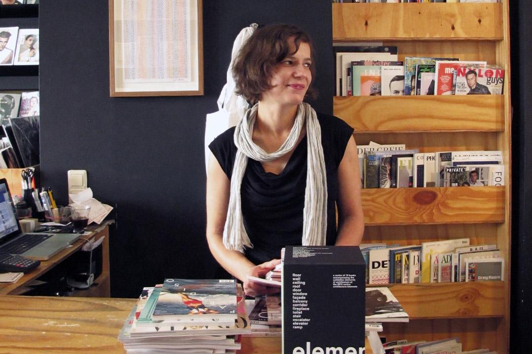 柏林必逛景點、歐陸獨立雜誌知名書店Do you read me?! 的店長 Jessica Reitz。照片提供:雜誌現場