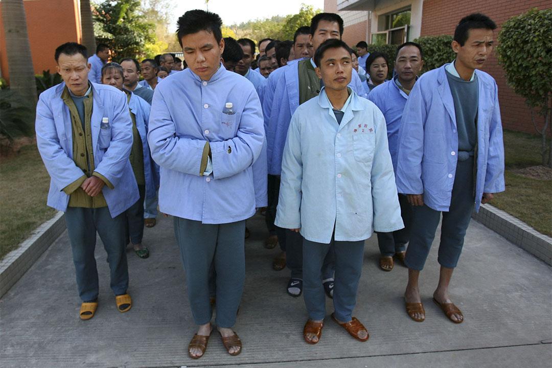 正於廣東省中山醫院接受治療的患者。