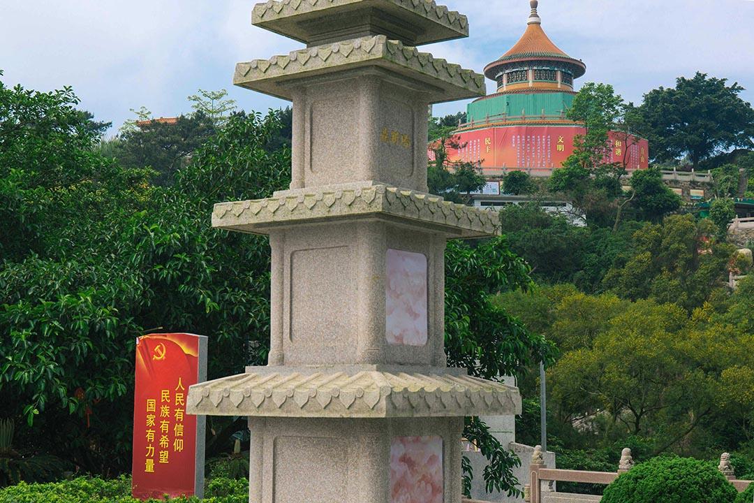 汕頭塔山風景區的文革博物館。 攝:葉家豪/ 端傳媒