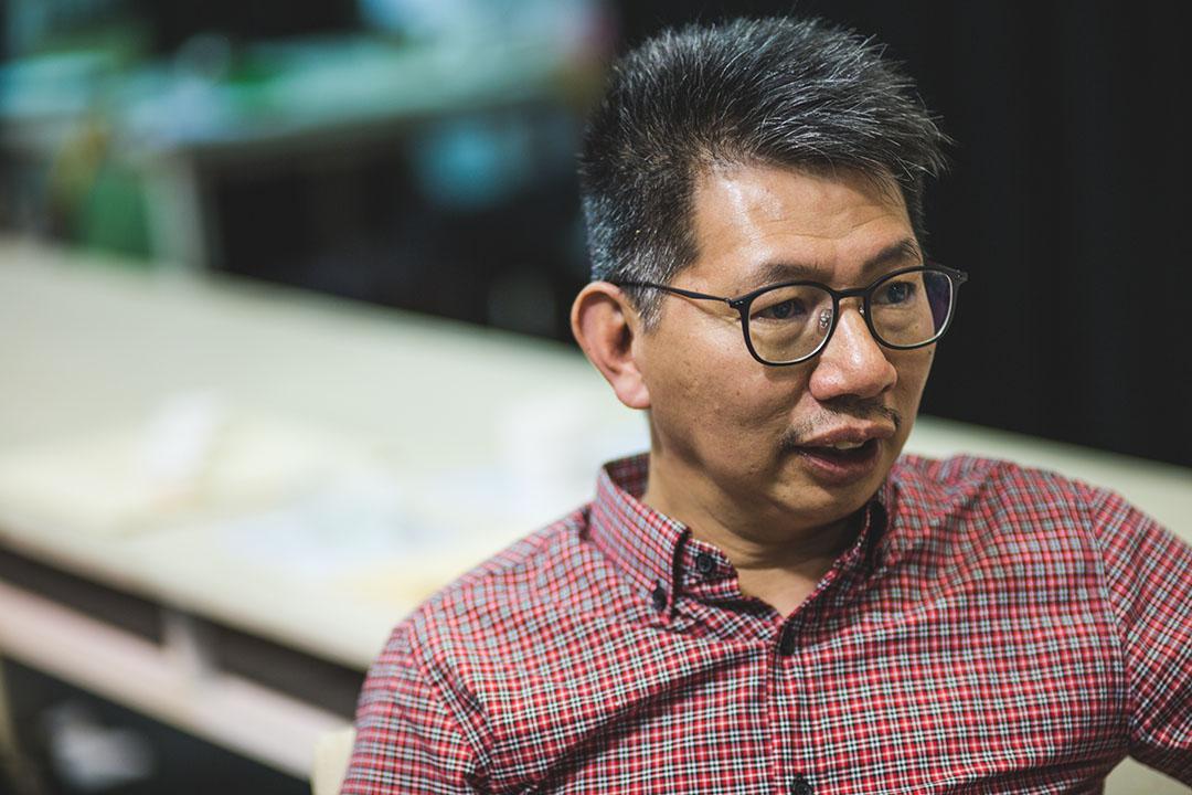 戲劇導演陳炳釗。