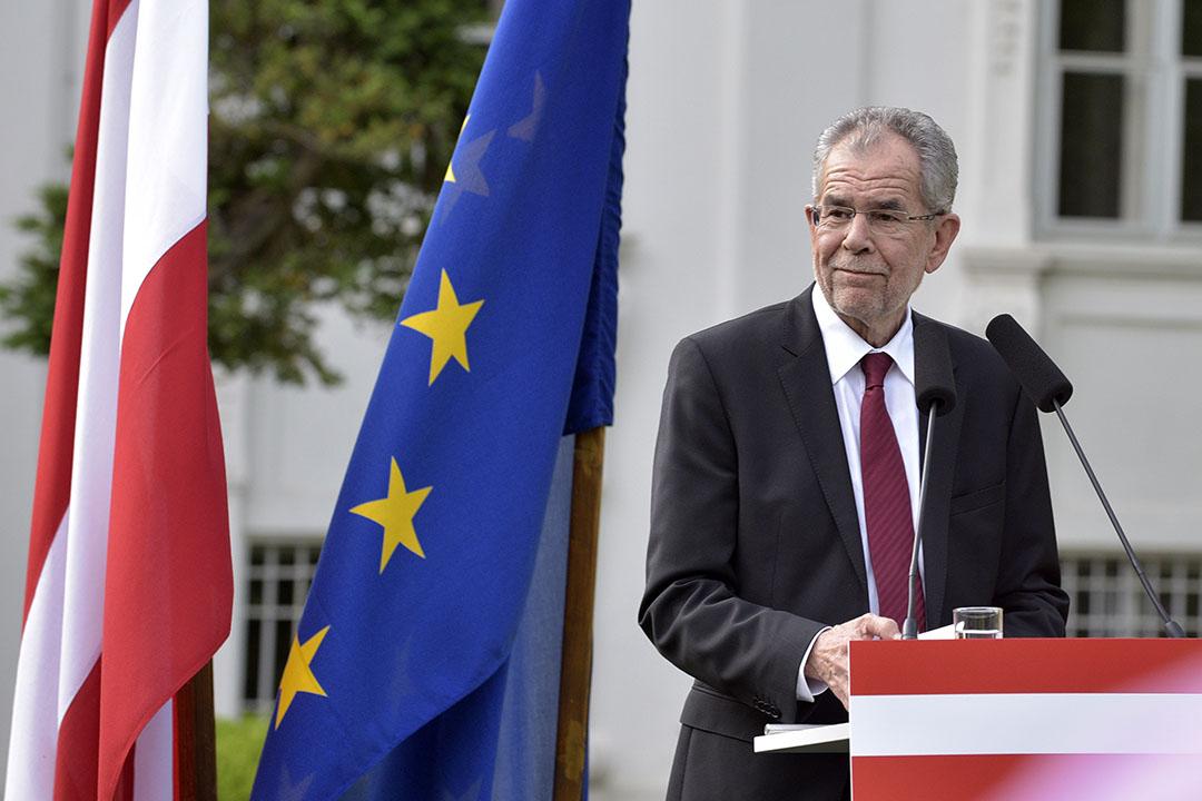 奧地利新總統亞力山大•梵德貝倫(Alexander Van Der Bellen)。
