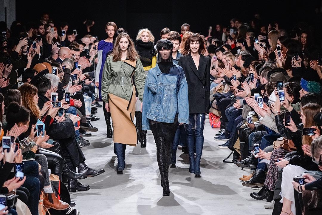 2016年3月,巴黎秋冬時裝周。