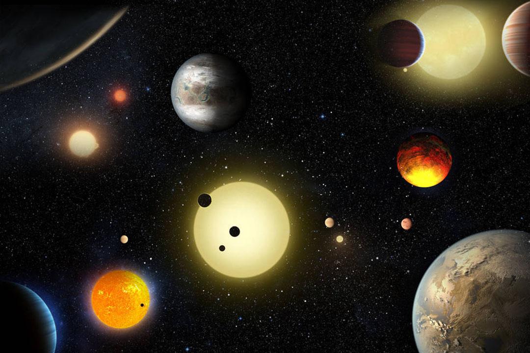 美國太空總署(NASA)5月10日宣布,開普勒(Kepler)太空望遠鏡又發現了1284顆系外行星。圖片:W. Stenzel/NASA