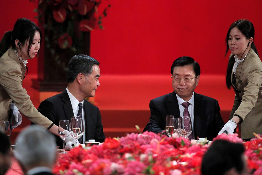 特區政府為全國人大委員長張德江舉行歡迎晚宴。