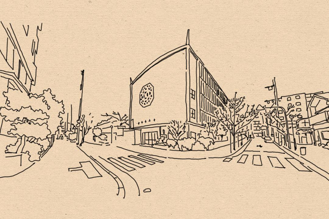 中華同文學校。