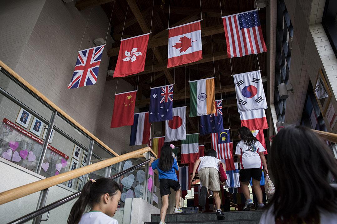 加拿大國際學校。攝:Anthony Kwan/端傳媒