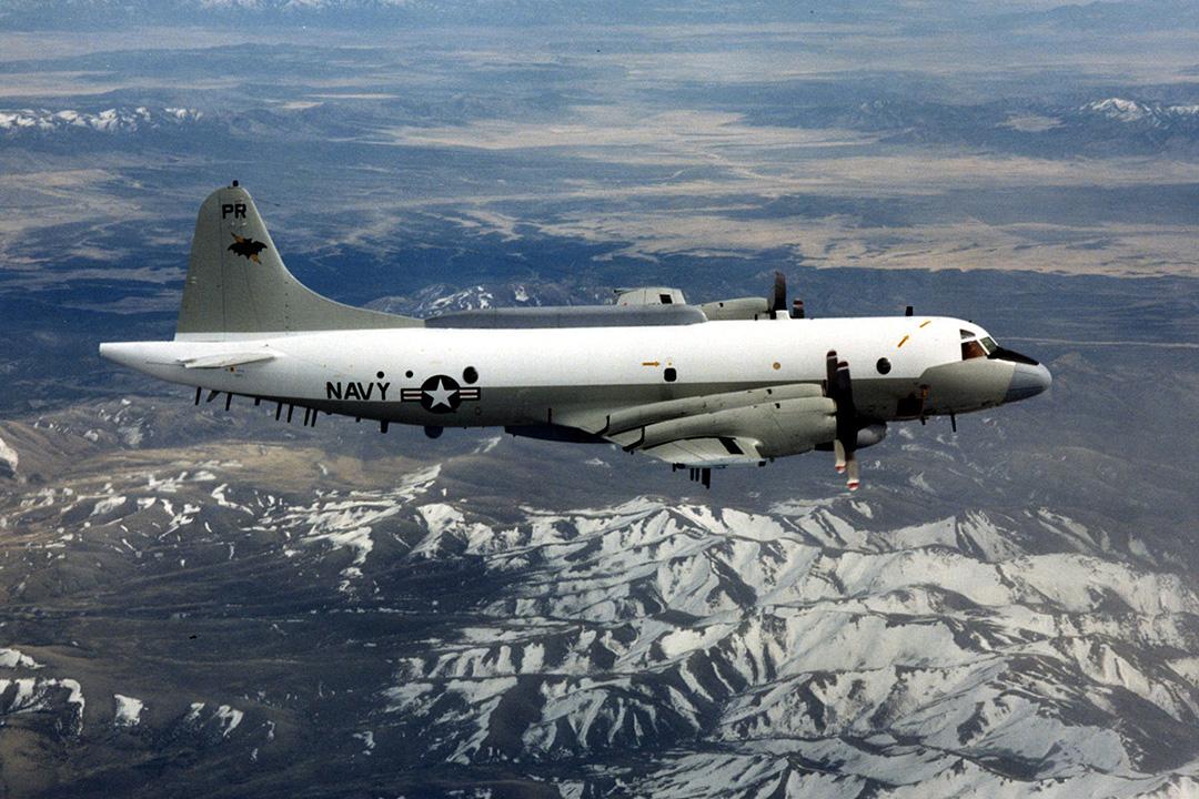 圖為美軍EP-3型偵察機資料圖片。