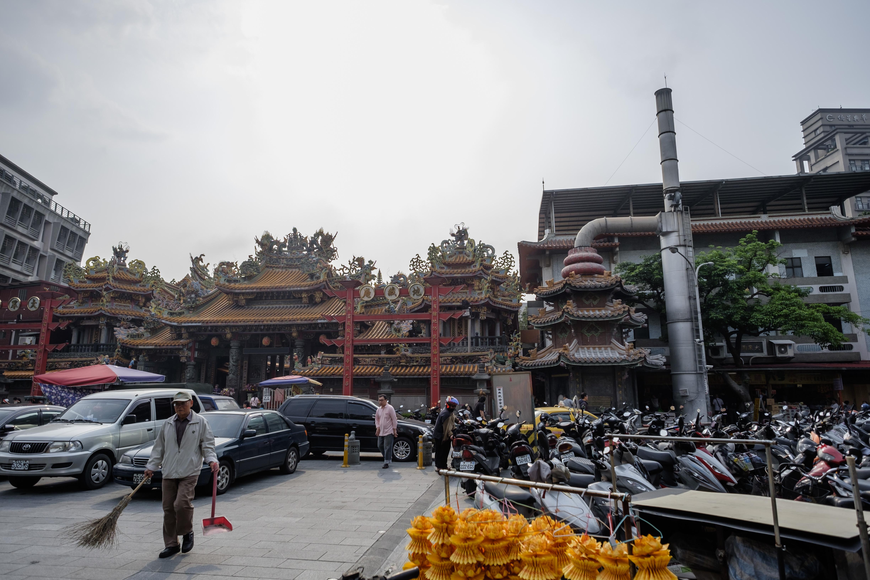 新莊神社(地藏庵)。攝:Tseng Lee/端傳媒