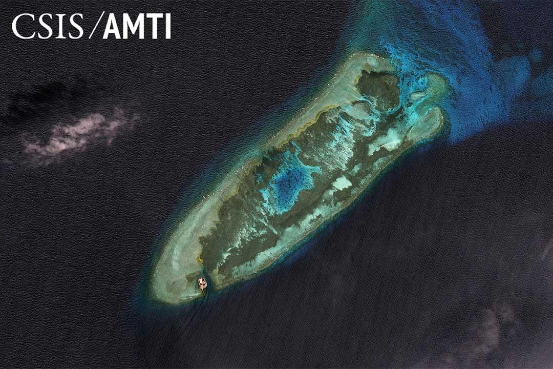 中國在南中國海上興建的人工島。