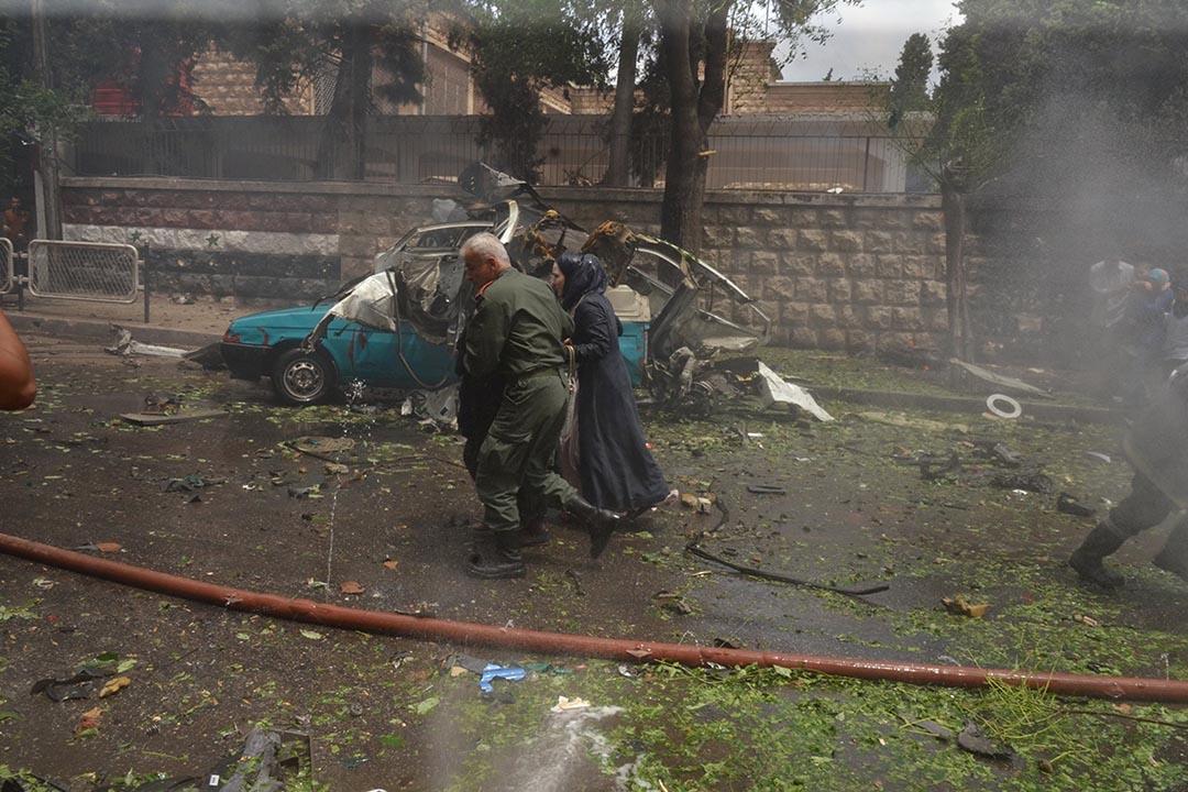 敘利亞北部城市阿勒頗局勢日益緊張,引發國際社會對敘利亞停火協議失敗的擔心。攝 : SANA/Handout via REUTERS