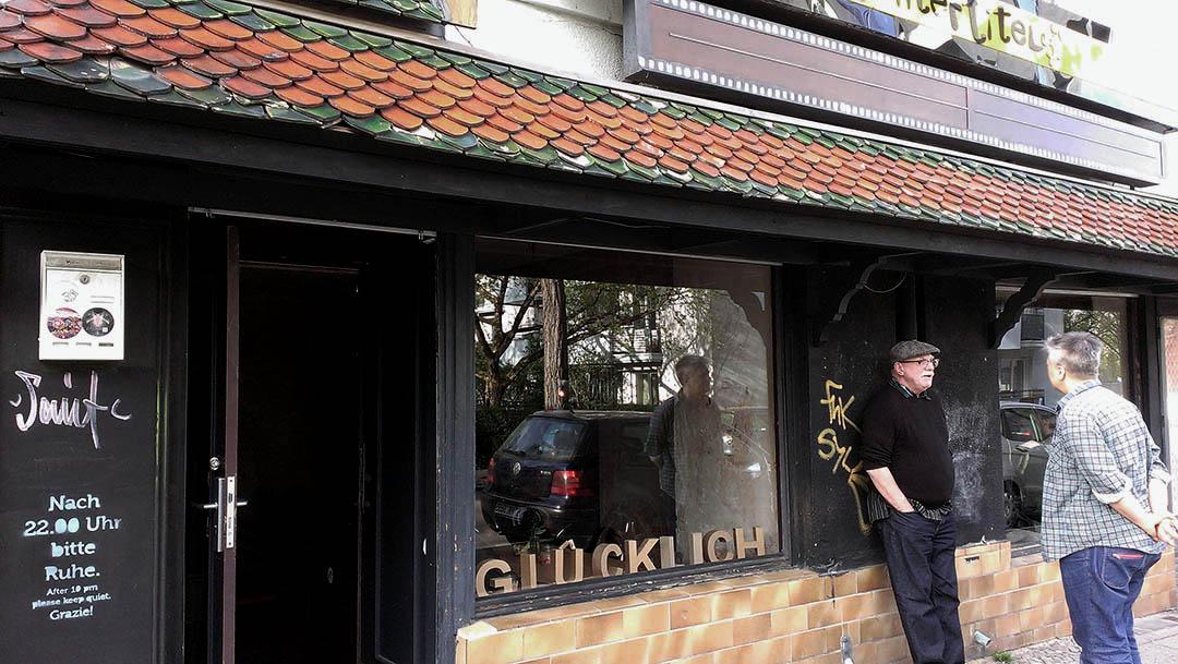 外表極不起眼的觀念餐廳位於柏林新科隆區(Neukölln)。