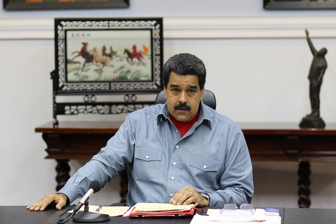 委內瑞拉總統馬杜羅(Nicolas Maduro)。