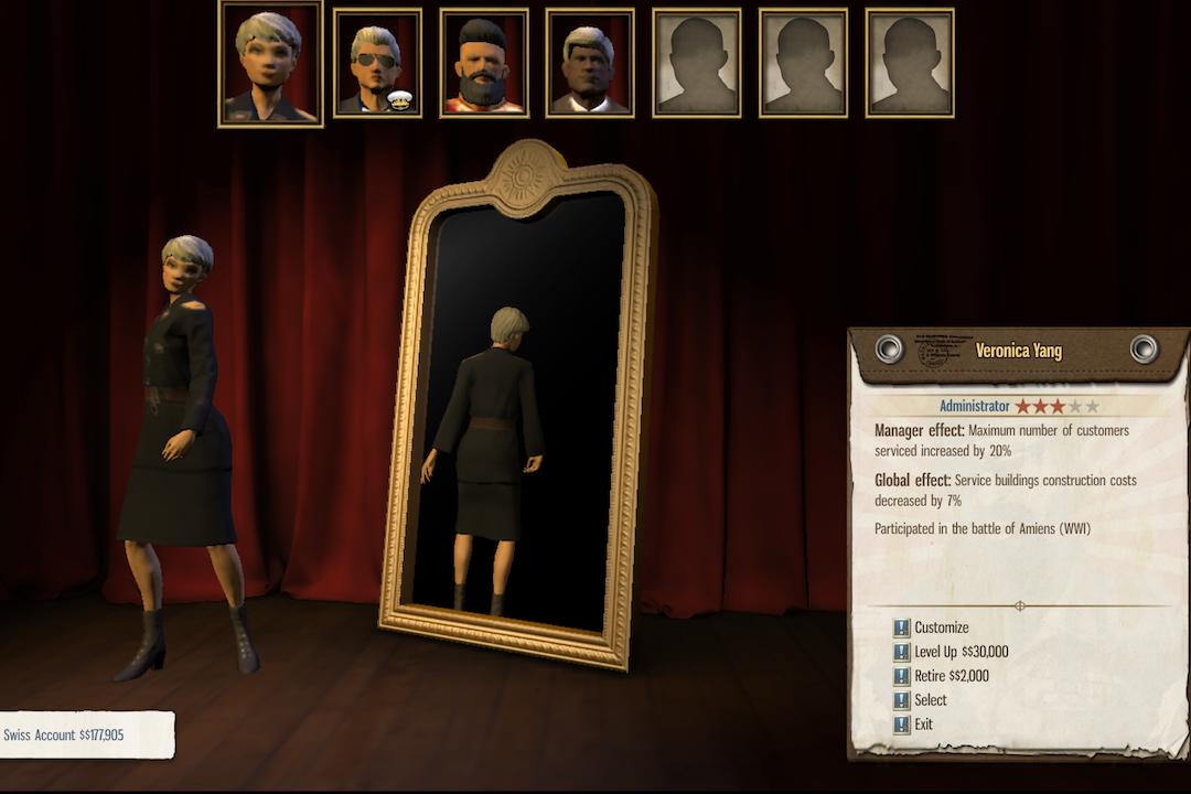 玩家可以在遊戲中建立自己的王朝,世襲傳遞「總統」席位。