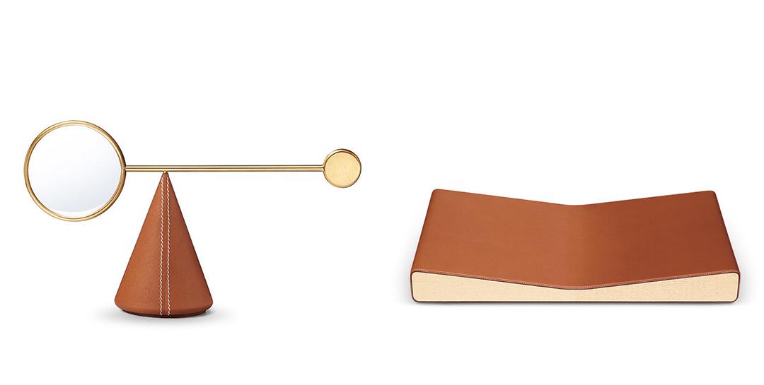 以Equilibre d'Hermès為名的小型家居配件。Hermès 提供圖片