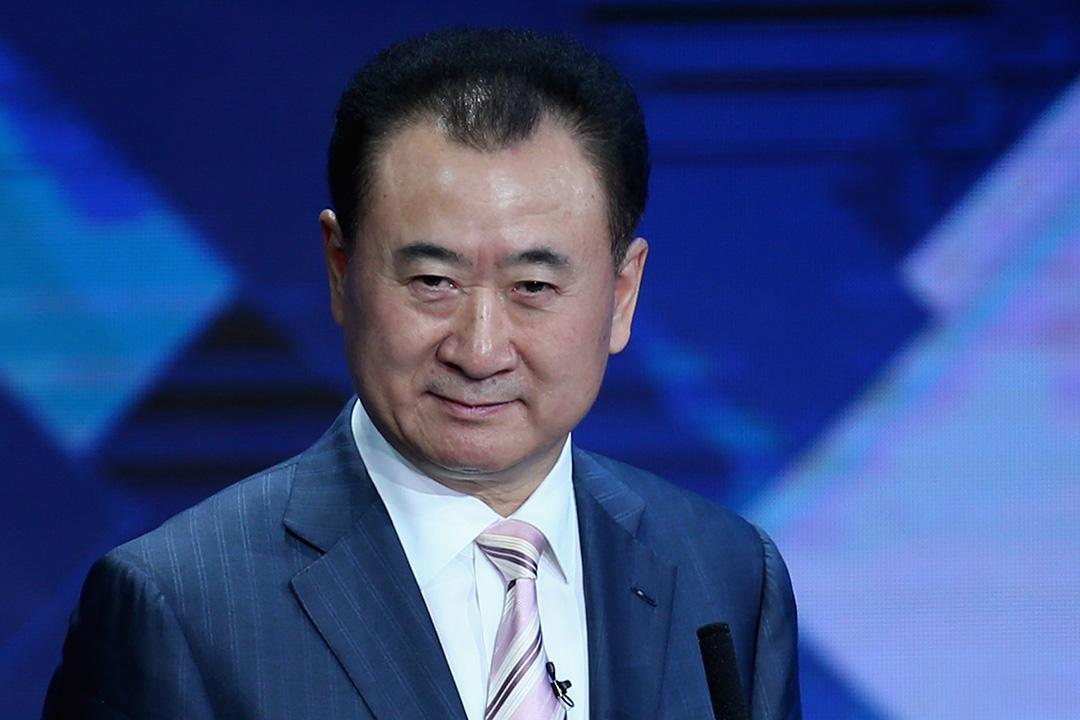 中國首富王健林。