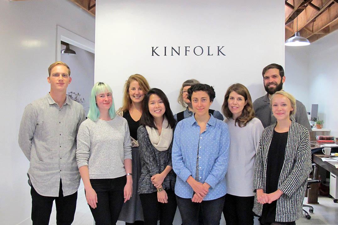 《Kinfolk》團隊於波特蘭辦公室。照片提供: 雜誌現場