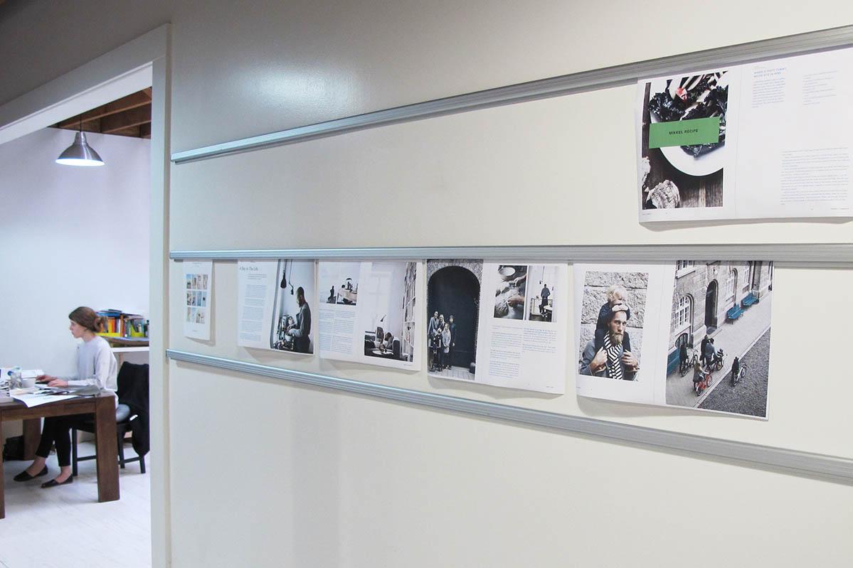 《Kinfolk》辦公室一角。照片提供: 雜誌現場