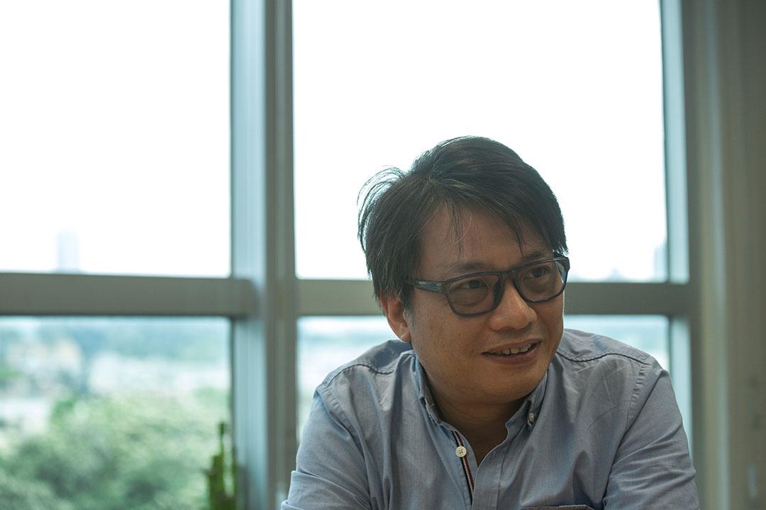 香港電台電視部外購及外判節目組特級節目主任麥志恒。攝:盧翊銘/端傳媒