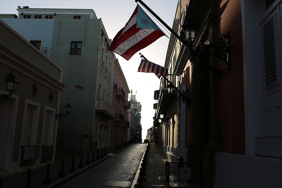 5月1日,波多黎各宣布無力償還2日到期的約3.67億美元債務,可能成為該美國自由邦有史以來最大規模的債務違約。攝: Joe Raedle/Getty