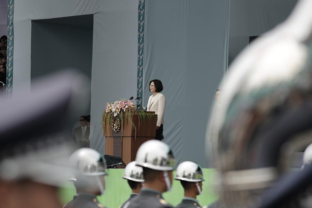2016年5月20日,台灣新任總統蔡英文出席就職典禮。