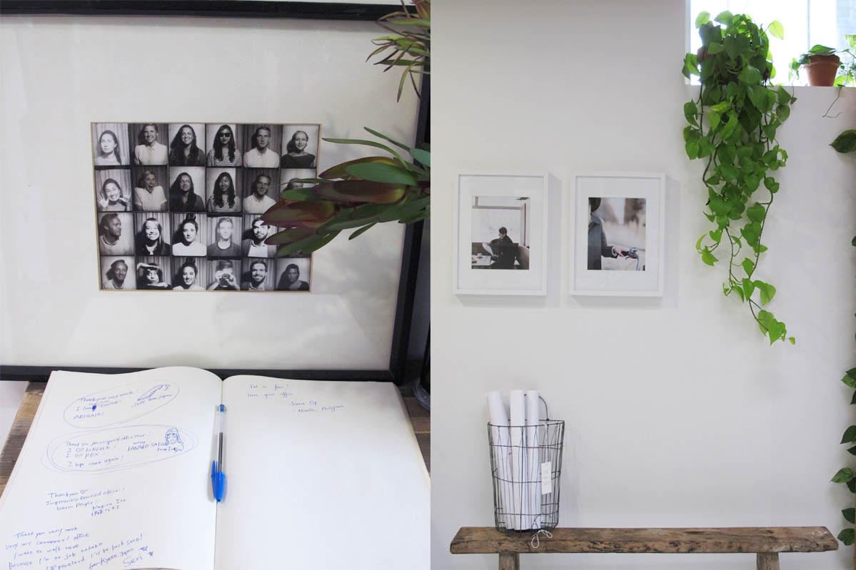 辦公室角落也跟雜誌一樣,充滿美好的氣味。照片提供: 雜誌現場