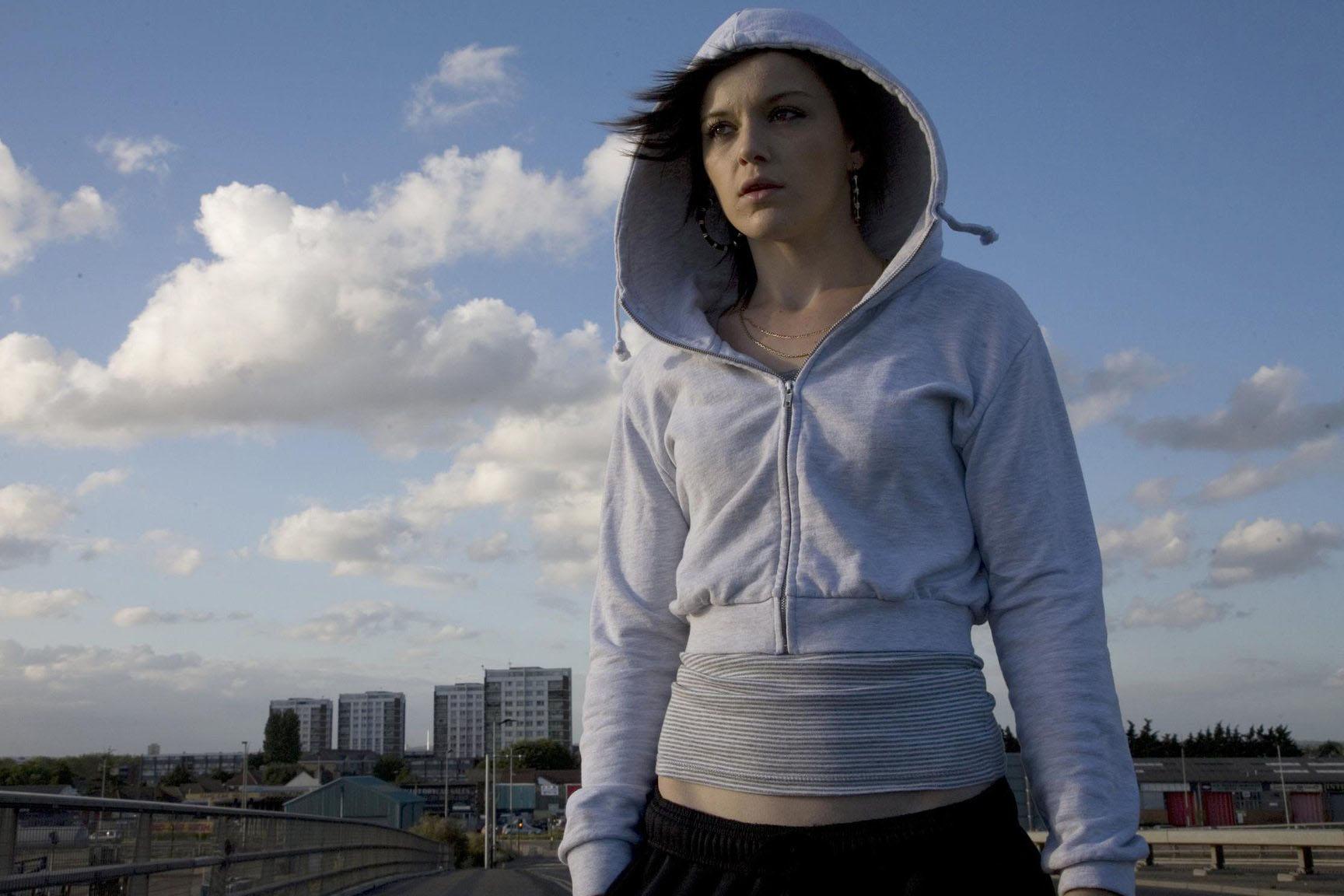 英國女性導演 Andrea Arnold 2009年電影《90後·少女·性起義》(Fish Tank)的劇照。