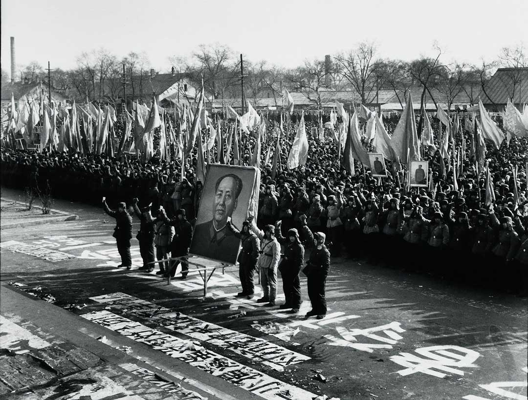 1967年1月31日,黑龍江革命委員會成立,紅衛兵當日組織遊行。