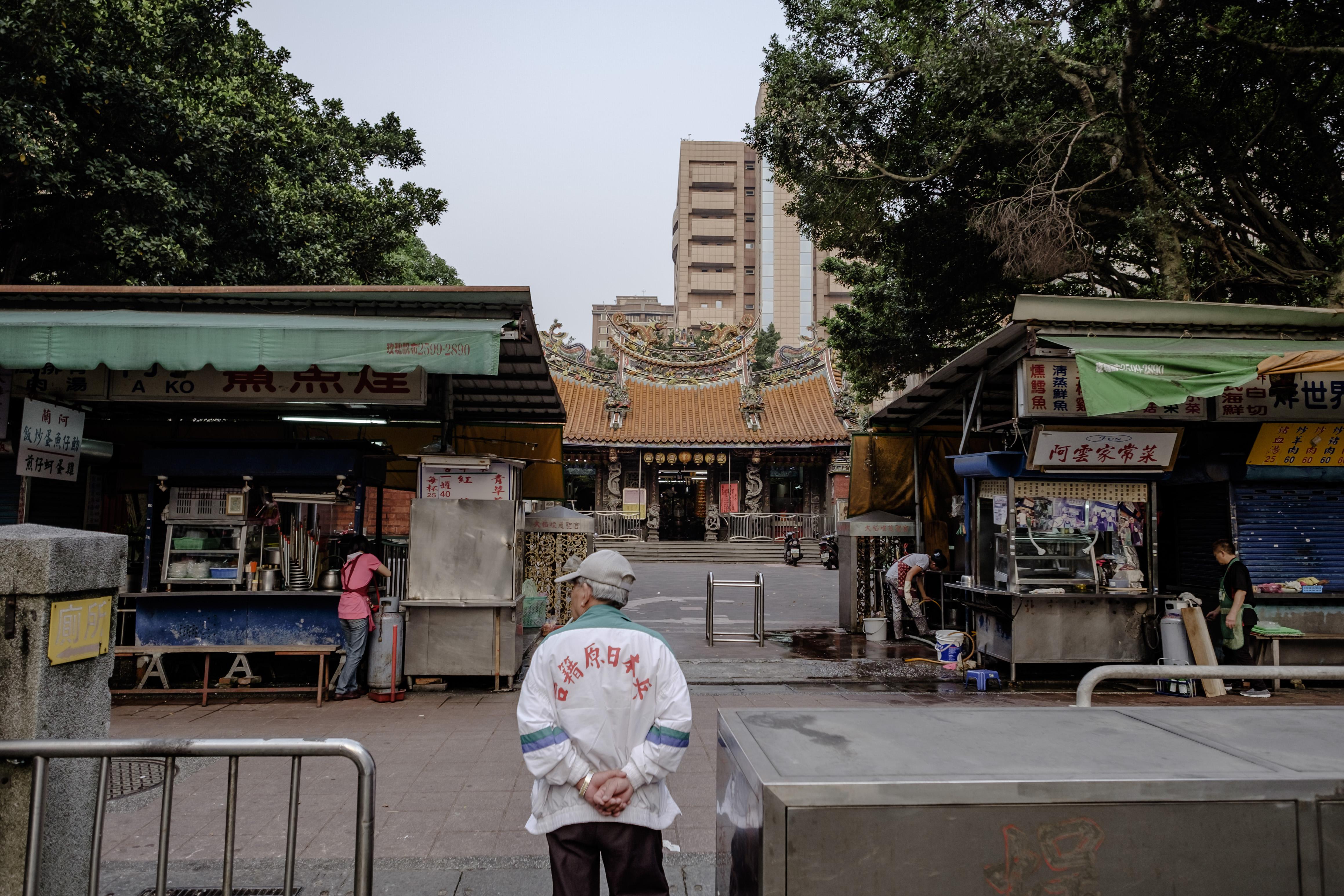 大稻埕慈聖宮。攝:Tseng Lee/端傳媒
